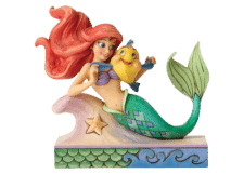 Disney Traditions: Ariel with Flounder Fun and Friends