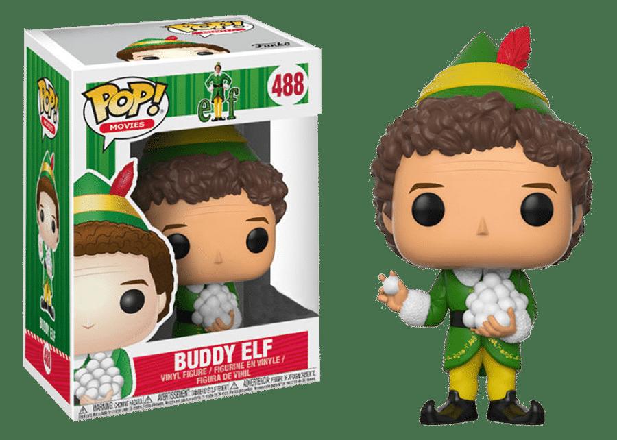 Funko Pop! Elf: Buddy Elf w/ Snowballs #488