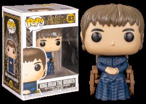 Funko Pop! Game of Thrones: King Bran the Broken #83