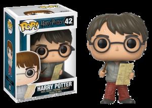 Funko Pop! Harry Potter: Harry with Marauders Map #42