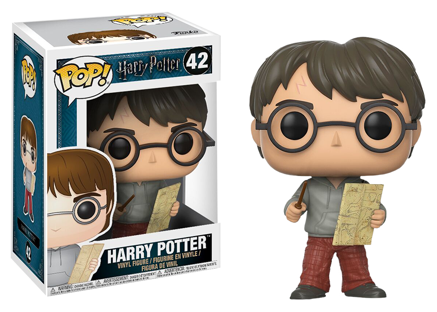 Funko Pop! Harry Potter: Harry with Marauders Map #42