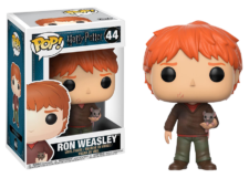 Funko Pop! Harry Potter: Ron with Scabbers #44