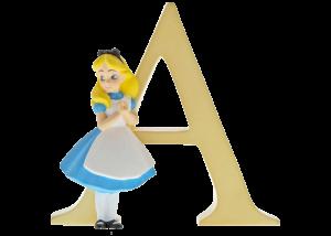 "Disney Alphabet Letters: A ""Alice in Wonderland"""