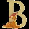"Disney Alphabet Letters: B ""Bambi"""