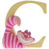"Disney Alphabet Letters: C ""Cheshire Cat"""