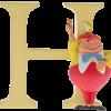 "Disney Alphabet Letters: H ""Tweedle Dee"""