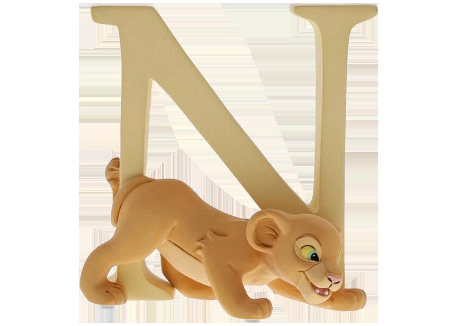 "Disney Alphabet Letters: N ""Nala"""