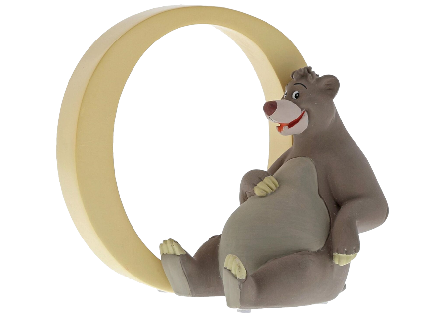"Disney Alphabet Letters: O ""Baloo"""