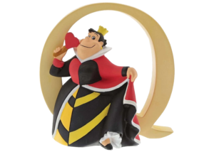 "Disney Alphabet Letters: Q ""Queen of Hearts"""