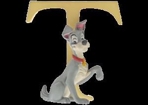 "Disney Alphabet Letters: T ""Tramp"""