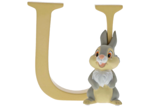 "Disney Alphabet Letters: U ""Thumper"""