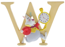 "Disney Alphabet Letters: W ""White Rabbit"""