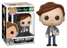 Funko Pop! Rick and Morty: Lawyer Morty #304
