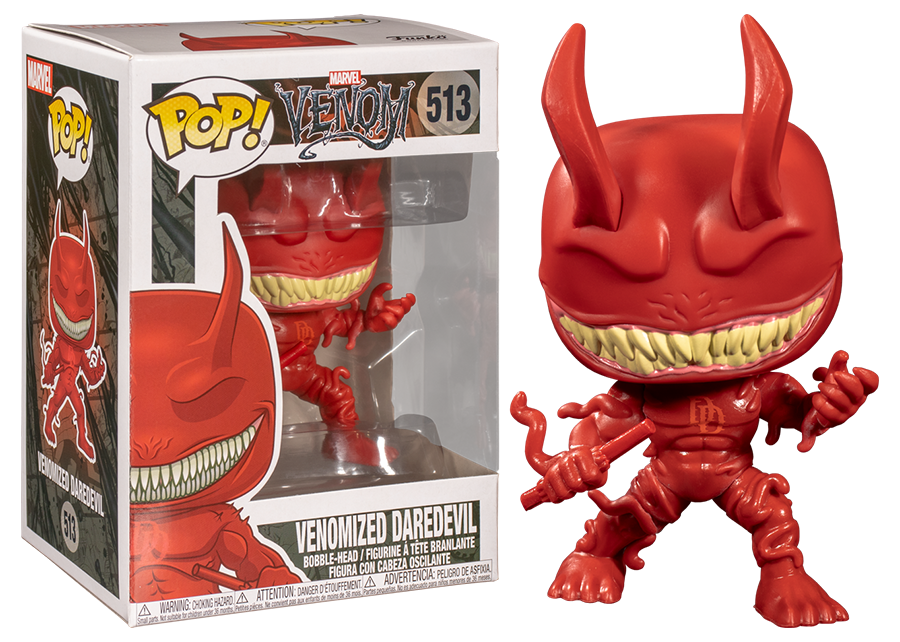 Funko Pop! Marvel: Venomized Daredevil #513