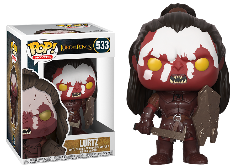 Funko Pop! Lord of the Rings: Lurtz (Uruk Hai) #533