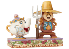 "Disney Traditions: Mrs. Potts and Cogsworth ""Workin' Around the Clock"""