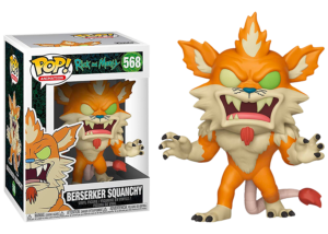 Funko Pop! Rick and Morty: Berserker Squanchy #568