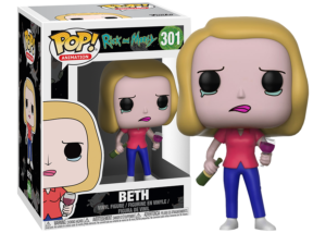 Funko Pop! Rick and Morty: Beth with Wine Glass #301