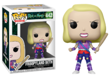 Funko Pop! Rick and Morty: Froopyland Beth #442