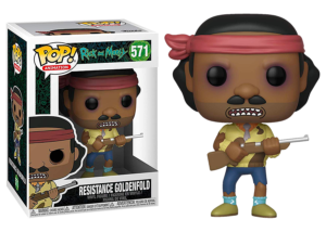 Funko Pop! Rick and Morty: Resistance Goldenfold #574