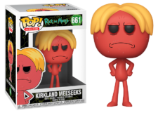 Funko Pop! Rick and Morty: Kirkland Meeseeks #661