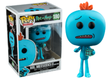 Funko Pop! Rick and Morty: Mr. Meeseeks w/ Box #180