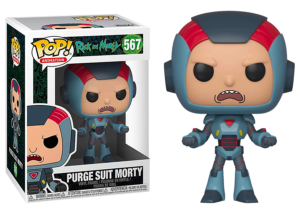 Funko Pop! Rick and Morty: Purge Suit Morty #567