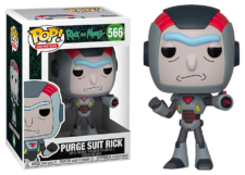 Funko Pop! Rick & Morty: Purge Suit Rick #566