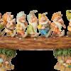 Disney Traditions: Seven Dwarfs Masterpiece