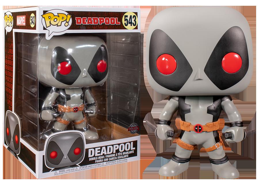 Funko Pop! Marvel: 10 Inch Deadpool Grey #543
