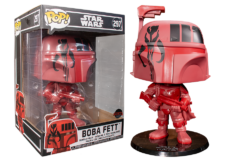 Funko Pop! Star Wars: 10 inch Boba Fett Red #297