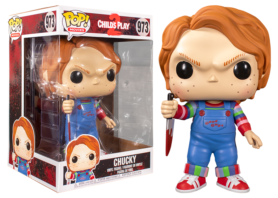 Funko Pop! Child's Play 2: 10 Inch Chucky #973