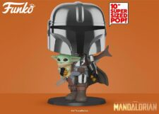 Funko Pop! The Mandalorian: 10 Inch Mandalorian