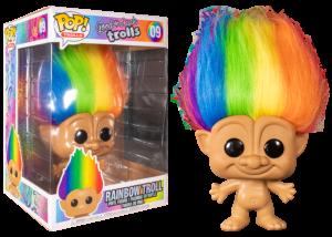 Funko Pop! Good Luck Trolls: 10 inch Rainbow Troll #09