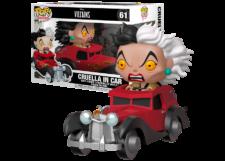 Funko Pop! 101 Dalmations: Cruella in Car #61