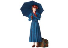 Disney Showcase: Live Action Mary Poppins Figurine