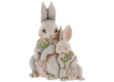"Heartwood Creek: Bunnies Figurine ""Forever My Honey Bunny"""