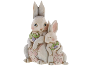 "Heartwood Creek: Bunnies Figurine ""Forever My Honey Bunny"""