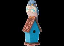 Heartwood Creek: Bluebird on Birdhouse Mini Figurine