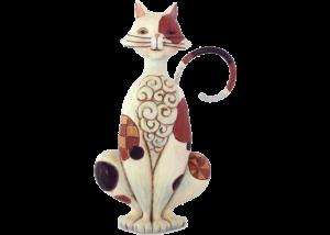 Heartwood Creek: Spotted Cat Mini Figurine