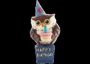 Heartwood Creek: Birthday Owl Mini Figurine