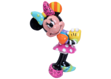 Disney Britto: Minnie Mouse Blushing Mini Figurine