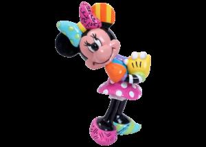 Disney Britto: Minnie Mouse Blushing Mini Figurine
