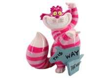 "Disney Showcase: Mini Cheshire Cat ""This Way"""
