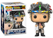 Funko Pop! Back to the Future: Doc with Helmet #959