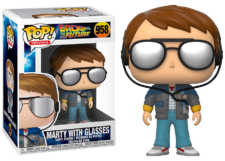 Funko Pop! Back to the Future: Marty with Glasses #958