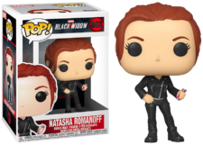 Funko Pop! Black Widow: Natasha Romanoff #603