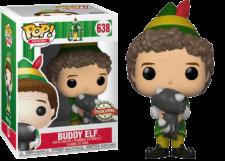 Funko Pop! Elf: Buddy with Raccoon #638