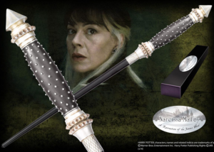 The wand of Narcissa Malfoy, proud mother to Draco and former Death Eater. Character box contains name clip.