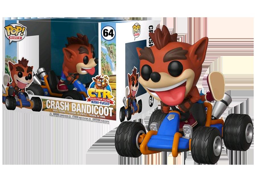 Funko Pop! Crash Bandicoot: Go Kart #64